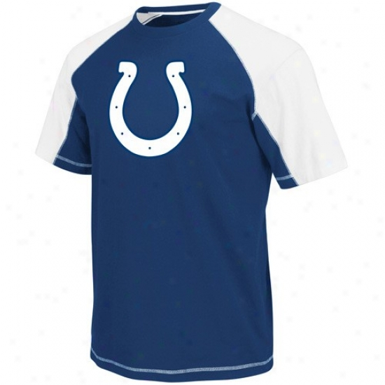 Indianapolis Colt Shirts : Indianapolis Colt Royal Blue-white Victory Gear Iii Premium Shirts