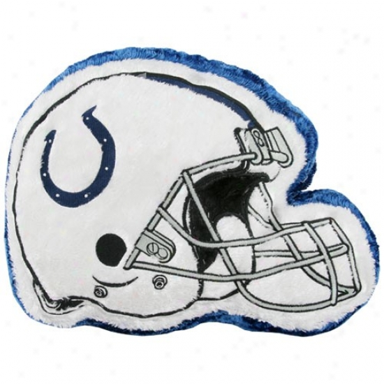 Indianapolis Colts 14'' Team Helmet Pl8sh Pillow