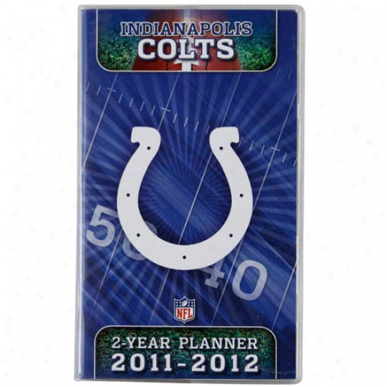 Indianapolis Colts 20111 -2012 Two-year Pocket Calendar