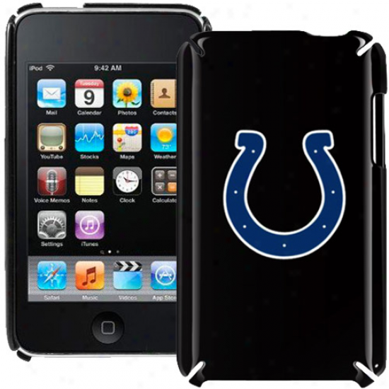 Indianapolis Colts Black Ipod Touch Hard Shell