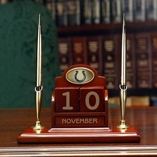 Indianapolis Colts Calendar Desk Set