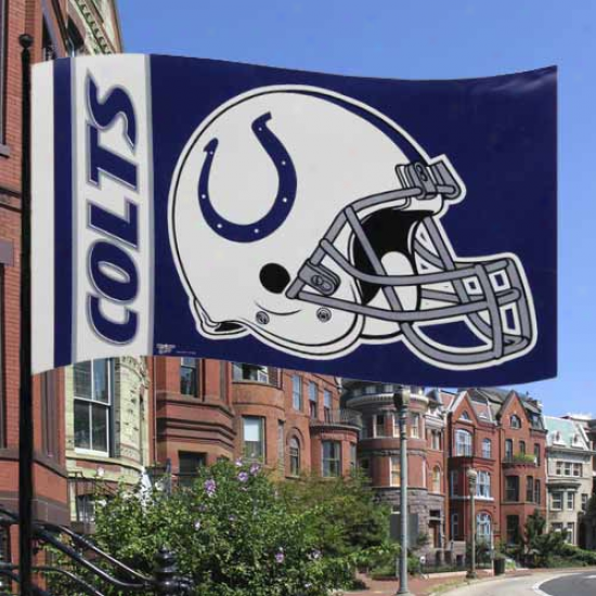 Indianapolis Colts Flag : Indianapolis Colts Premium 3' X 5' Flag