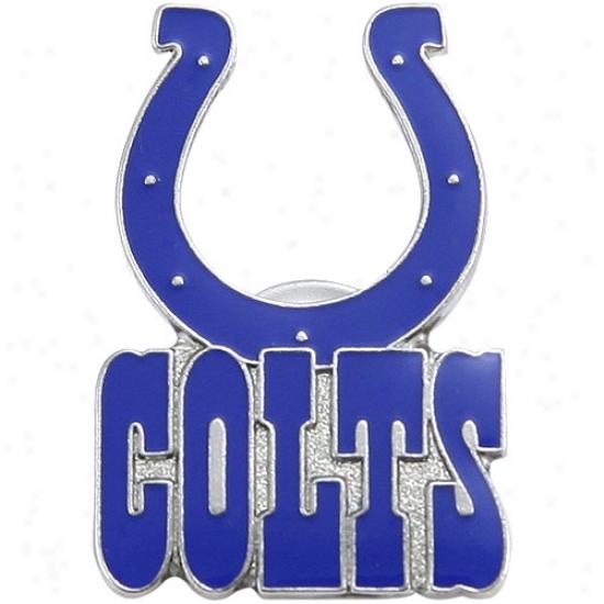 Indianqpolis Colts Hats : Indianapolis Colts Logo Pin