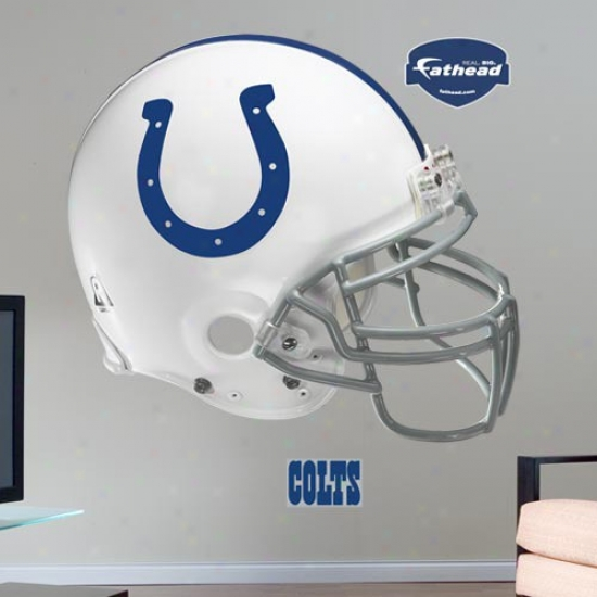 Indianapolis Coltd Helmet Fathead Wall Sticker