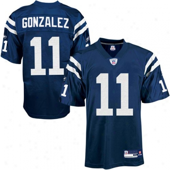 Indianapolis Colts Jerseys : Reebok Indianapolis Colts #11 Anthony Gonzalez Royal Blue Replica Football Jerseys
