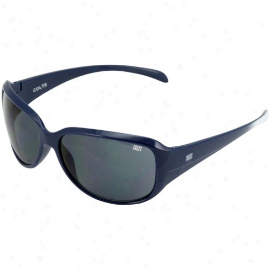 Indianapolis Collts Ladies Royal Blue-white Fade Velocity Sunglassea