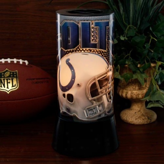 Indianapolis Colts Rotating Lamp