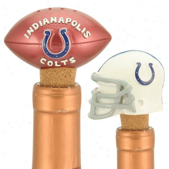 Indianapolis Colts Two Pack Bottle Cork Set