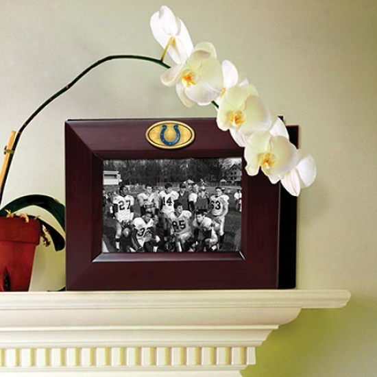 Indianapolis Colts Wooden Frame & Photo Album