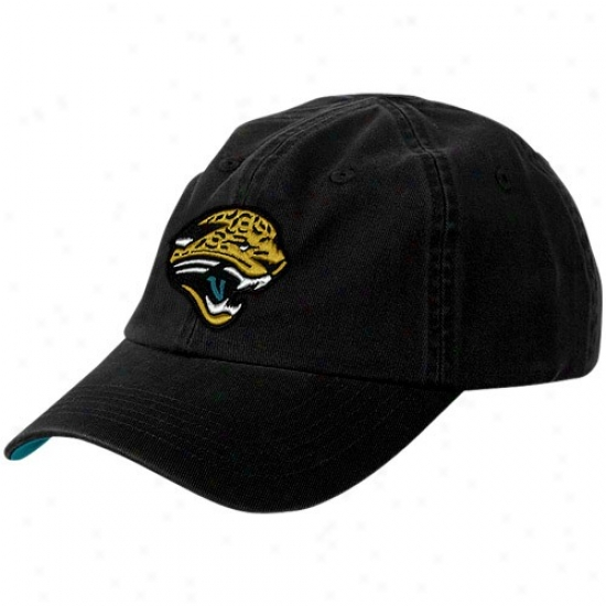 Jacksonville Jags Hat : Reebok Jacksonville Jags Toddler Black Basic Logo Adjustable Hat