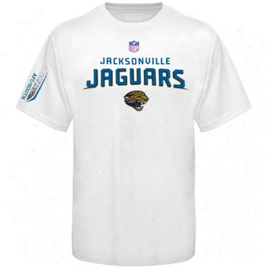 Jacksonviple Jaguar Shirt : Reebok Jacksonville Jaguar Youth White Prime Shirt