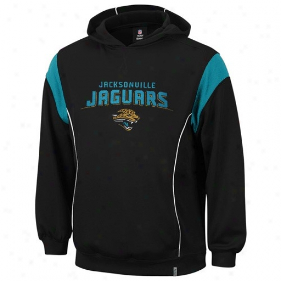 Jacksonville Jaguar Sweatshirts : Reebok Jacksonville Jaguar Youth Black Clutch Sweatshirts