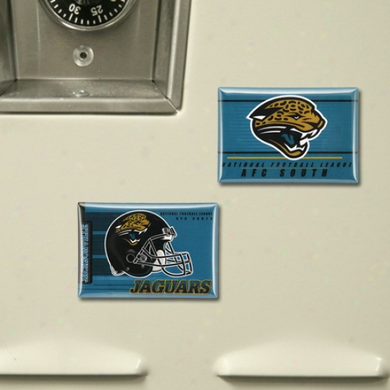 Jacksonville Jaguars 2 Pack Magnets