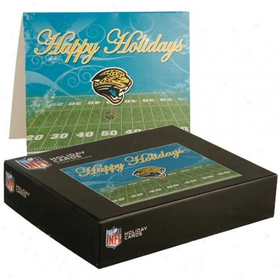Jacksonville Jaguars 21-pack Holiday Cards