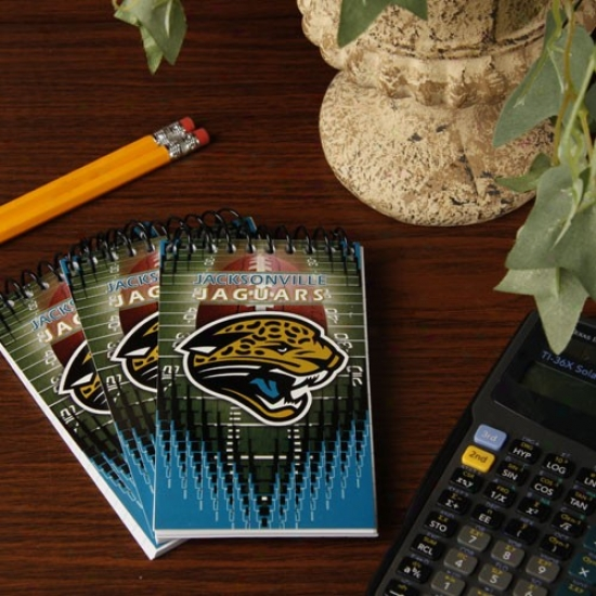Jacksonville Jaguars 3-pack Memo Books