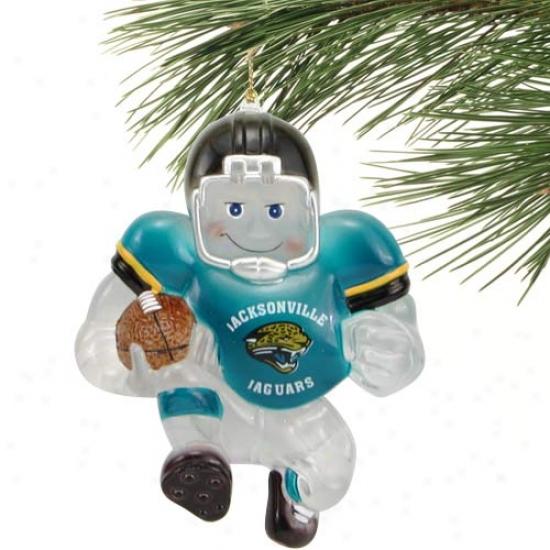 Jacksonville Jaguars Acrylic Halfback Ornament