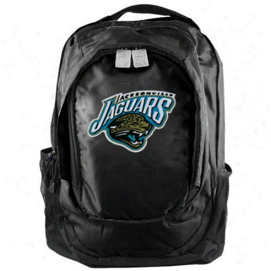 Jacksonville Jaguars Black Embroidered Team Logo Bacmpack