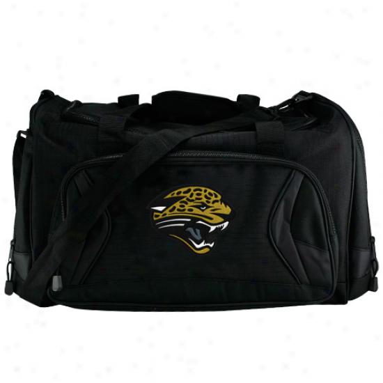 Jacksonvilie Jaguars Black Fly-by Duffel Bag