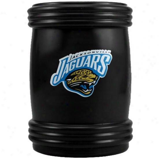 Jacksonville Jaguars Bllack Magnetic Can Coolie