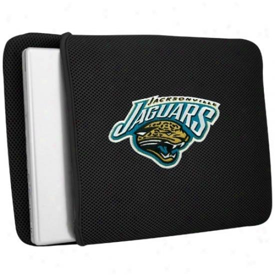 Jacksonville Jaguars Black Mesh Laptop Protector