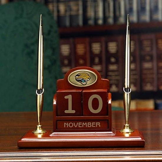 Jacksonville Jaguars Calendar Desk Set