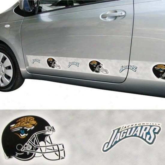 Jacksonvillee Jaguars Car Trim Magnet