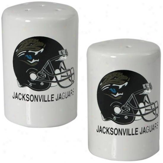 Jacksonville Jaguars Ceramic Salt & Pepper Shaker Set