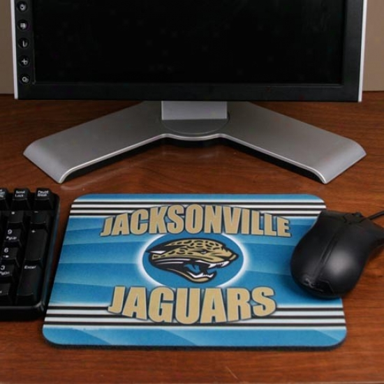 Jacksonville Jaguars End Zone Mousepad
