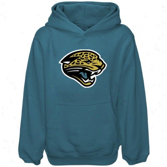 Jacosonville Jaguars Fleece : Reebok Jacksonville Jaguars Preschool Teal Primary Logo Fleece