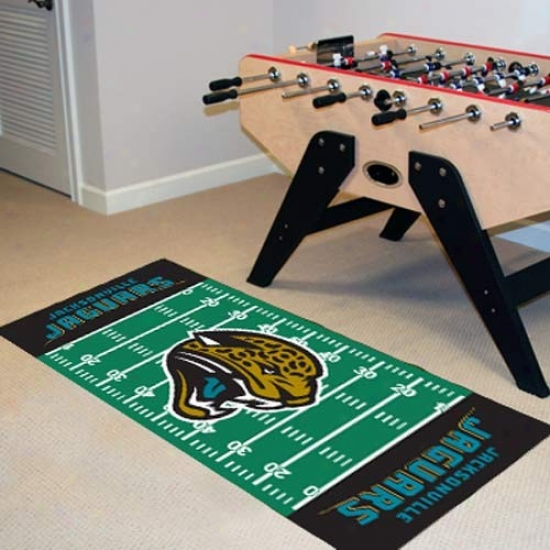 Jacksonville Jaguars Football Field Runner Mat