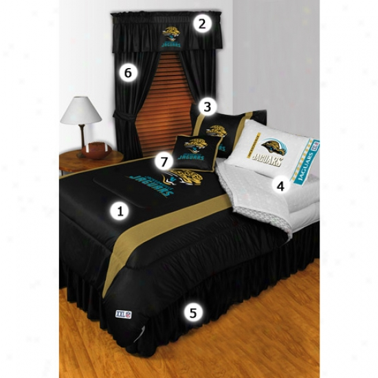 Jacksonvillr Jagurs Full Size Sideline Bedroom Set