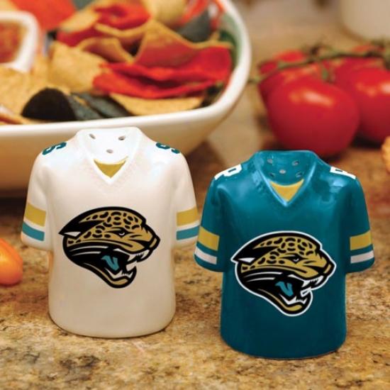 Jacksonville Jaguars Gameday Ceramic Salt & Pepper Shakers