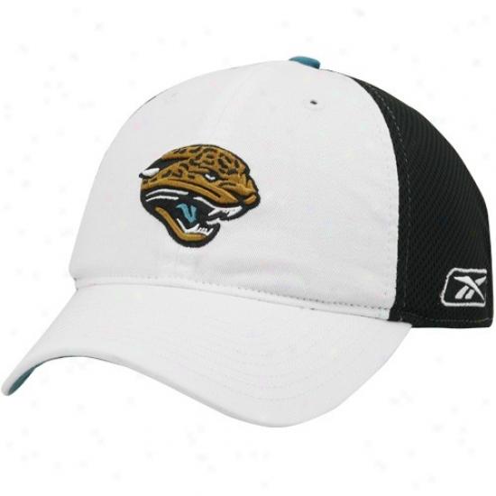 Jacksonville Jaguars Hat : Reebok Jacksonville Jaguars Pale Preseason Coaches Ensnare Slouch dAjustable Sideline Hat
