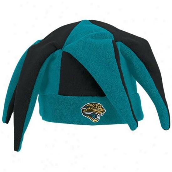 Jacksonville Jaguars Hats : Reebok Jacksonville Jaguars Teal-black Flewce Joker Hats