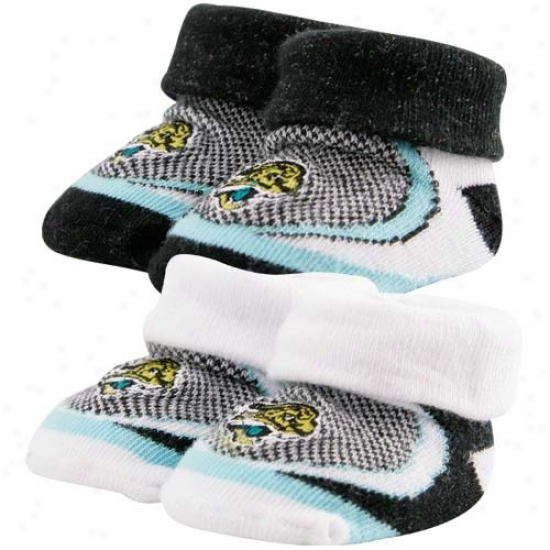 Jacksonville Jgauars Infant 2-pack Sprot Bootie Socks