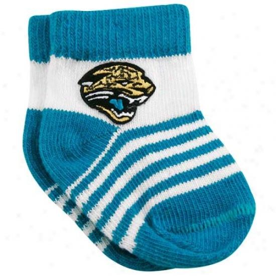 Jacksonville Jaguars Infant Happy Team Logoo Bootie Socks
