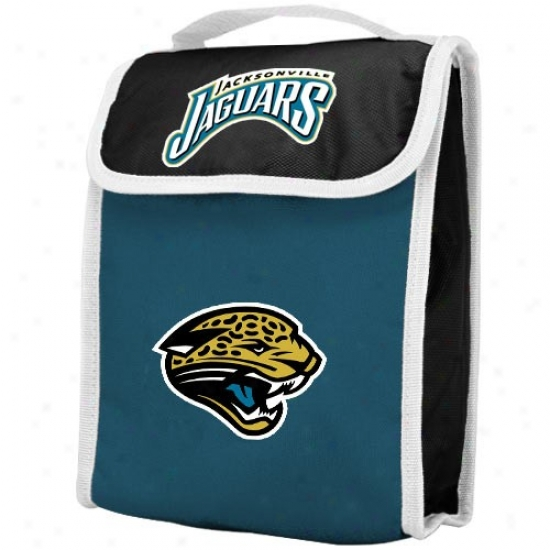 Jacksonville Jaguars Insulated Nfl Lunch Bag