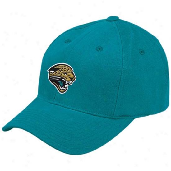 Jacksonville Jaguars Merchandise: Reebok Jacksonville Jaguars Teql Basic Logo Brused Cotton Hat
