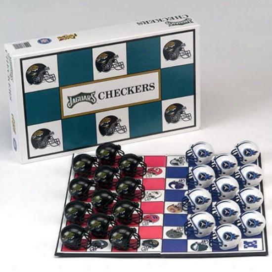 Jacksonville Jaguars Nfl Taem Checkers