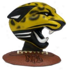 Jacksonville Jaguars Nfl Team Logo Figurine