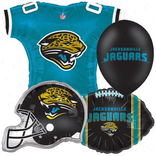 Jacksonville Jaguars Party Balloon Set