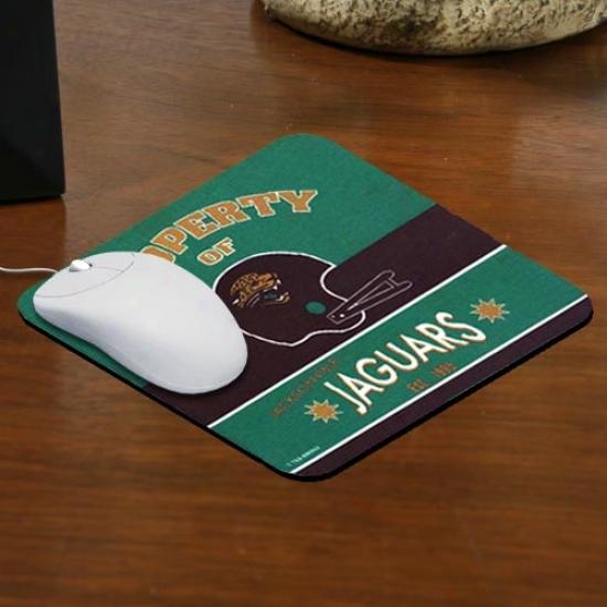 Jacksonville Jaguars Retro Mousepad