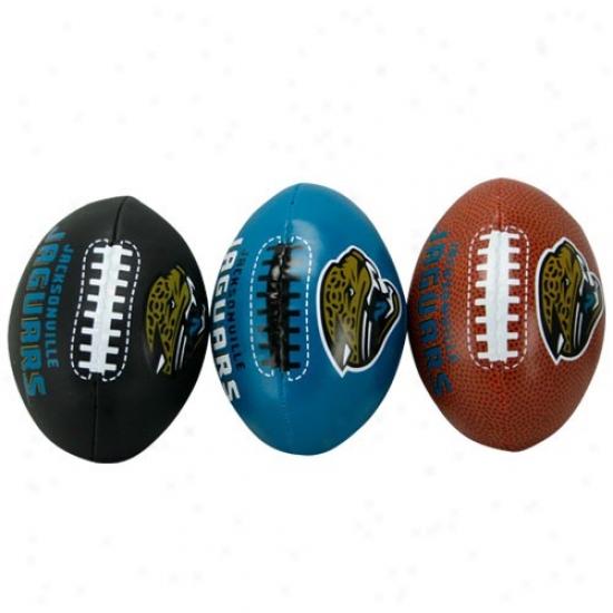 Jacksonville Jaguar Softee 3 Ball Set