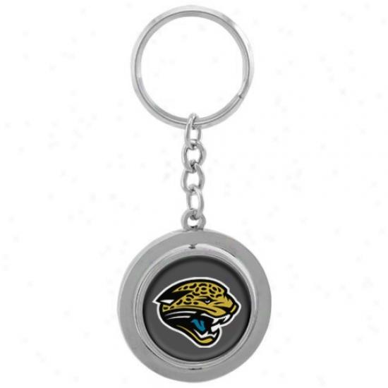 Jacksonville Jaguars Spinner Keycnain
