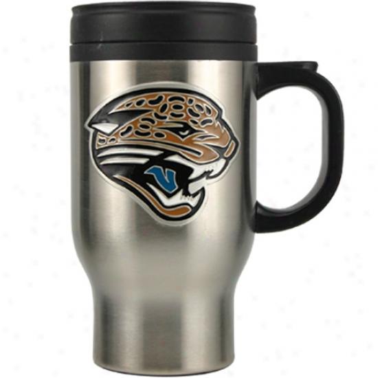 Jacksonville Jaguars Spotless Steel Travel Mug