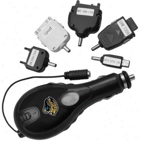 Jacksonville Jaguars Team Logoo Automotive Electronics Universal Turbo Dish