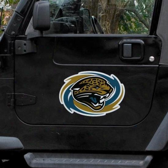 Jacksonville Jaguars Team Logo Car Magnet