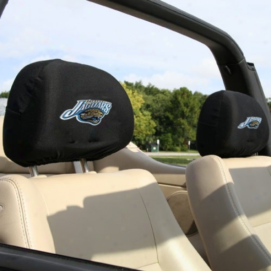 Jacksonvilke Jaguars Team Logo Heax Rest Covers