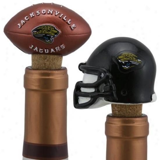 Jacksonville Jaguars Two Pack Bottle Cork Set