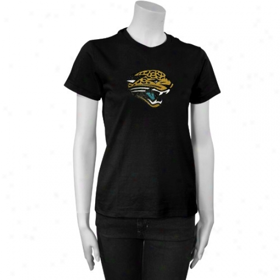 Jags Apparel: Reebok Jags Ladies Wicked Frosted Logo T-shirr